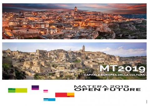 """Matera """"città europea"""", in linea con i modelli avanzati proposti dall'Europa."""