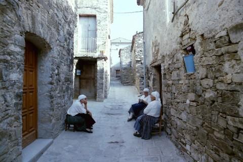 Il borgo di Shën Pali